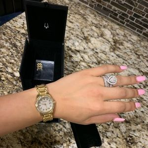 BULOVA diamond watch